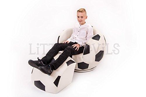 Calcio adulti grande sedia girevole per sport e giochi, sedia (grande abbastanza per bambini, adolescenti (Arms Girevole Sedia)