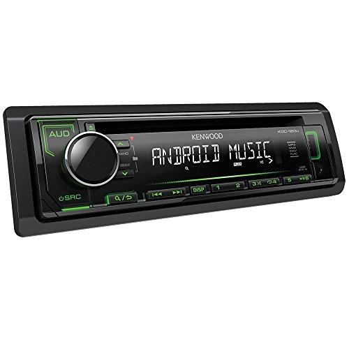 Kenwood KDC-120UG CD-Receiver mit frontseitigem USB/Aux-Eingang schwarz