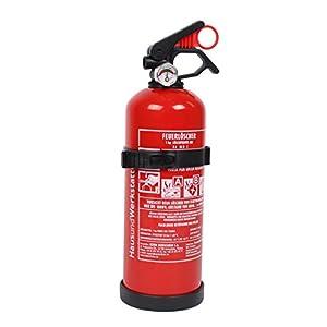 Wohnmobil Feuerlöscher Pulver ABC 1kg mit Halterung