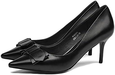 Zapatos De Tacón Alto De Moda De Mujer Negro Zapatos De Salón De Boda Atractivo,Black-8.8cm-EU:37/UK:4.5