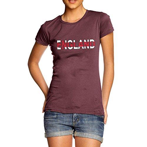 TWISTED ENVY Women's England Flag Football T-Shirt