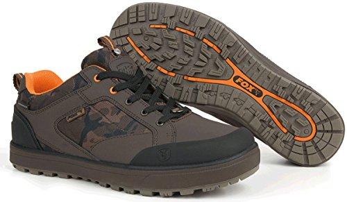 Fox Chunk Camo Trainers Schuhe Angelschuhe, Schuhe zum Angeln, Anglerschuhe, Schuhgröße:Gr. 42 / 8