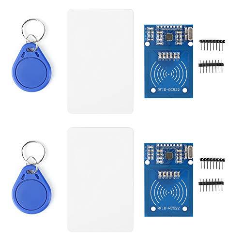1 Satz Kartenmodul, MFRC-522 Kartenleseantenne RF RFID-Leser IC-Karten-Näherungsmodule mit Schlüssel Compactflash Pro Series