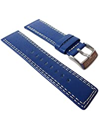Festina K5331/C-Band - Correa para reloj, piel, color azul
