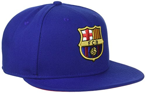 Nike FC Barcelona True Core Kappe, Deep Royal Blue/Noble Red, One Size