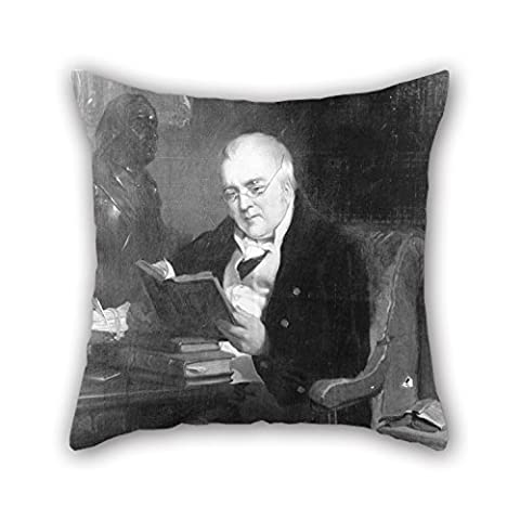 Artistdecor Oil Painting Landseer, Sir Edwin - John Allen Throw Pillow Case 16 X 16 Inches / 40 By 40 Cm Gift Or Decor For Couch,bar,gf,drawing Room,bedding,home Theater - Two