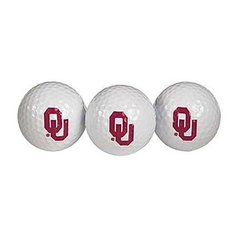Oklahoma Sooners Golf Ball Pack of 3