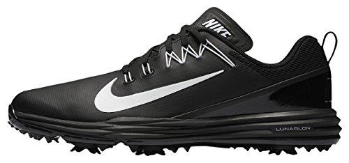 Nike Lunar Command 2, Chaussures sport homme Noir (Black/white)