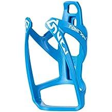 Portabidon Porta Bidon Azul Cacharra de Fibra Bicicleta MTB Carretera Ciclismo 3115az