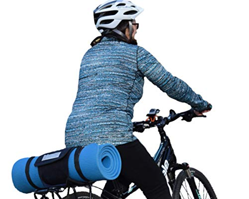 Fahrradtaschenhalter für Damen - verwandeln Sie Jede Tasche in eine Fahrradtasche mit dem Klettverschluss Hugger - Fahrrad-Befestigungsgurt. -