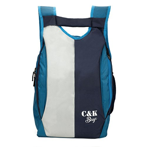 Chris & Kate Polyester 21 Litres Blue School Bag