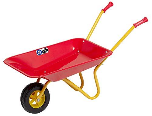 Izzy Metallschubkarre ab 2,5 Jahren Kinderschubkarre Metallschüssel Kunststoffgriffe max. belastbar bis 35 kg