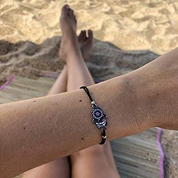 Armband Frauen Damen Mädchen Surferarmband Freundschaftsarmband Made by Nami Armbänder – Handmade Surfer Schmuck Damen Sommer Boho Strand Girl Anhänger