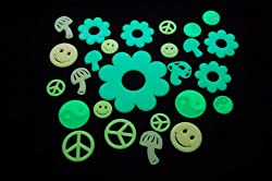 Glow In The Dark 60s Stickers