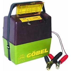 Göbel Weidezaungerät Batteriegerät Compact A 1500 bis 8km Zaunlänge 0,50J 9V 12V ohne Batterie