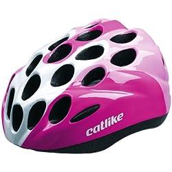 Catlike Kitten - Casco de ciclismo, color rosa/blanco brillo, talla S (52-55 cm)