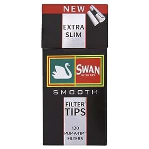 Swan Extra Slim Filter Tips 2400–glatt 20Boxen