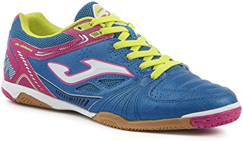 Joma Dribling 604 azul fluor marino Indoor  Schuhe Fussball Indoor Herren  DRIWc5.605.IN.41