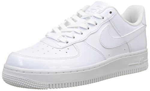 Nike Wmns Air Force 1 '07 ESS, Zapatillas de Gimnasia para Mujer, Blanco (White/White/White 100), 38 EU