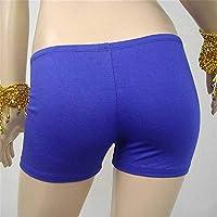 NIUHAIQING Rock Pantalones cortos de seguridad, medias, pantalones cortos, ropa interior sin costuras, ropa interior femenina para danza del vientre, pantalones cortos