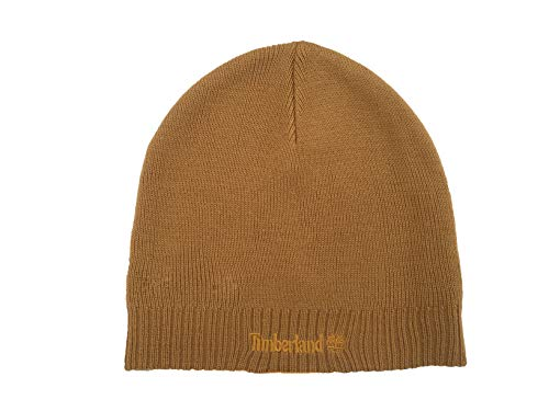 Timberland Boys Basic Beanie Hat Yellow One Size (Timberland Hat)