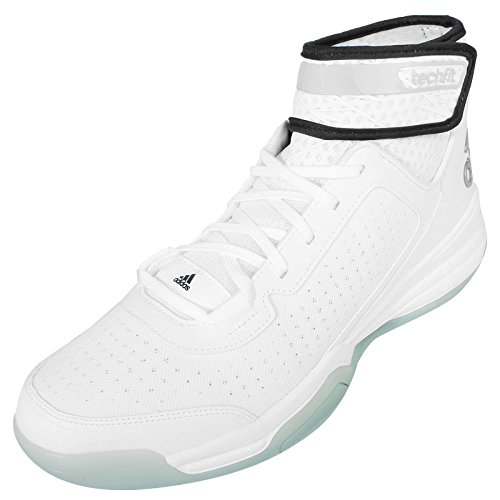 adidas Dual Threat BB, Herren Sneaker weiß / schwarz