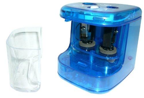 Valoro 690/051/0000 - Sacapuntas eléctrico de escritorio (doble), azul