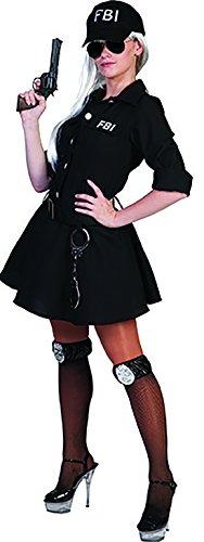 stüm Kleid für Frauen, XS, Schwarz (Häftling Kostüm Frauen)