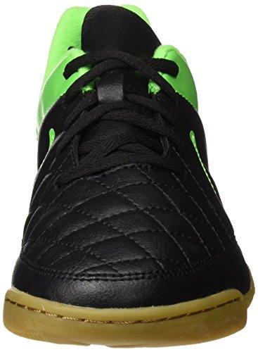 Nike Jr Tiempo Rio Ii Ic, Chaussures de football garçon Vert/noir