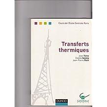 Transferts thermiques