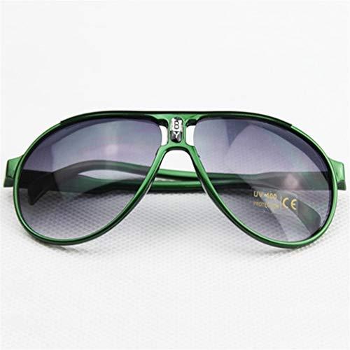 Neue Süße Mode Kinder Brille Studenten UV-Schutz Männer Und Frauen Baby Baby Sonnenbrille Brille Explosion Modelle (Frame Color : Green)