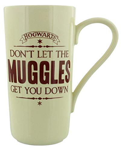 Lizenzierte Harry Potter Muggles Kaffeetasse als Trinkgefäß und Sammlerstück