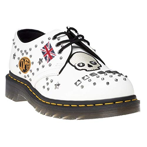 Dr. Martens Blanc 1461 Rockabilly Chaussures