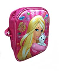 Newest Imported 3D Embossed Design Cute Cartoon Printed Sling Bag For Kids Picnic/outdoor Adventure (PRINCESS)
