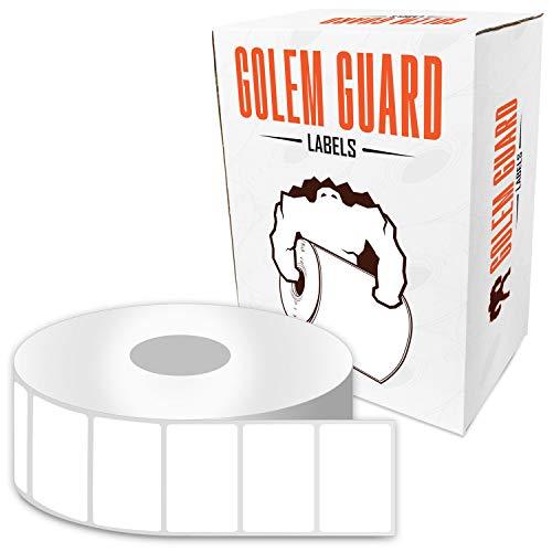 Golem Guard Thermo-Etiketten für LP2824 (Parent) 1 x 2 inch   41 Rolls Removable (2x1 Zebra Drucker Etiketten)