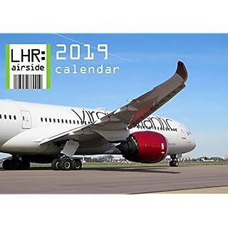 LHR: airside 2019 Wall Calendar