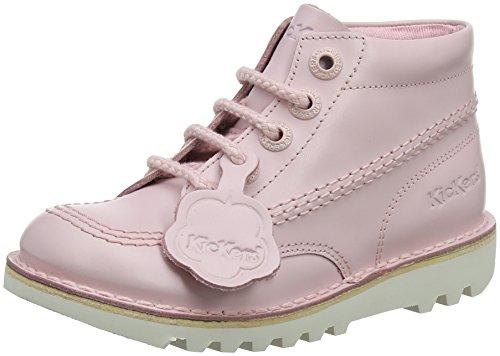 Kickers Mädchen Kick Hi Kurzschaft Stiefel, Pink (Chalk Pink), 34 EU (Kickers Hi Kick Stiefel)