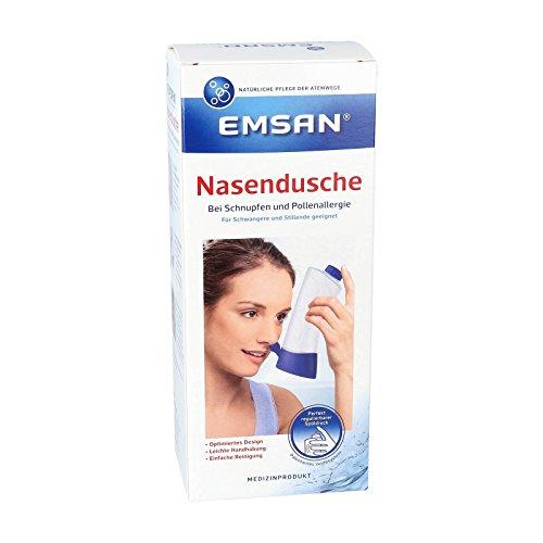 Emsan Nasendusche mit 10 Beute ln Nasenspülsalz