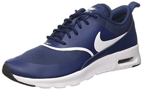 buy popular e8207 858a6 Nike Wmns Air MAX Thea, Zapatillas para Mujer, Azul (Navy White-