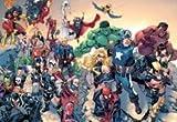 Personnage de bande dessinée Hulk Iron Man Comics Venom Thor Spiderman Captain America pour homme Wolverine Argent Mouse Pad, Mousepad (25,9x 21,1x 0,3cm)