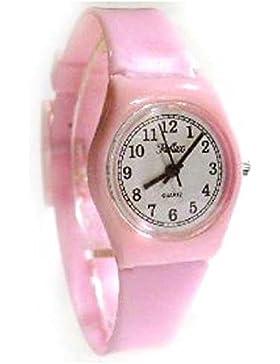 Reflex -1560043L- rosa Damenuhr mit Plastikarmband