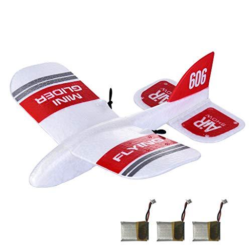 TwoCC-Drohne, drei Elektriker Version Kfplan Kf606 Epp 2.4G 2Ch Mini-Starrflügel-Innenflugzeug mit Gyroskop