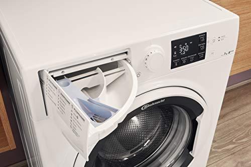 Bauknecht WM Pure 7G42 Waschmaschine Frontlader / A+++ -20% / 1400 UpM / 7 kg / Weiß / langlebiger Motor / Nachlegefunktion / Wasserschutz - 8