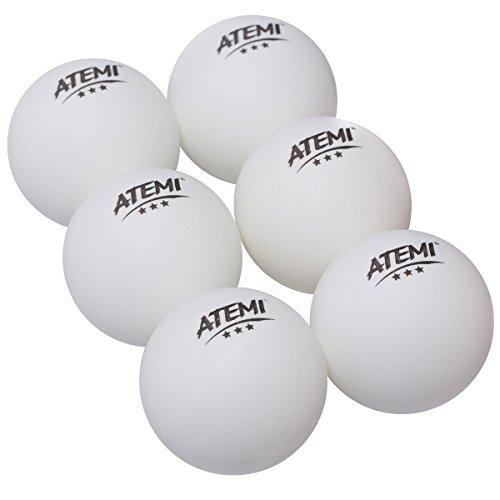 Atemi Tischtennis-Bälle 3-Stern (Weiß)