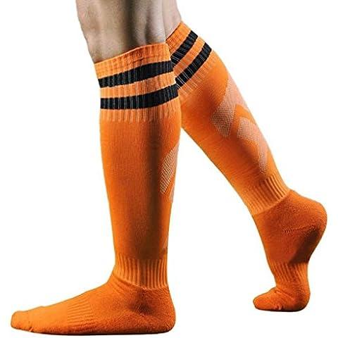 Calzino Familizo Uomo Calzini Men Sport Football Soccer Long Striped Socks High Socks Sock Baseball Hockey
