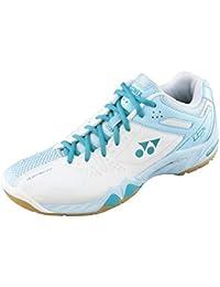 YONEX Chaussure de badminton SHB-02LX pour Femme, Blanc/Bleu, 42