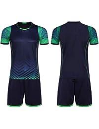 1c5373416f20d LQZQSP Hombres Camisetas De Fútbol Camisetas De Manga Corta + Pantalones  Cortos Kits Trajes De Entrenamiento