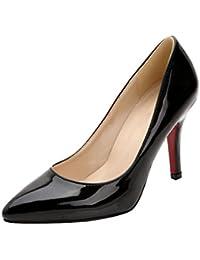 Chaussures à bout pointu Hooh noires femme D1YJwc