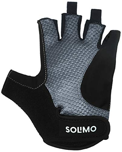 7d057f546b4c6 Amazon Brand - Solimo Gym Gloves (Medium), Black/Grey | Exercise and  Fitness, Gloves, Accessories, Sports, Fitness and Outdoors | Best news and  deals!
