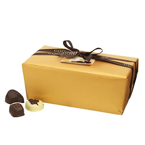 Godiva Ballotin in Gold papier, 80 Stück, 1kg (Godiva-pralinen Belgische)